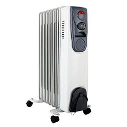 KUPPET YA400200 Space Heater Electric Oil Filled Radiator Ra